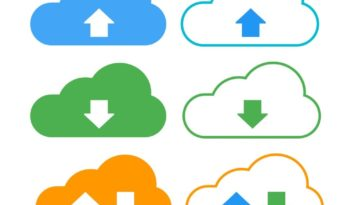 Download Upload Cloud Internet Data Network